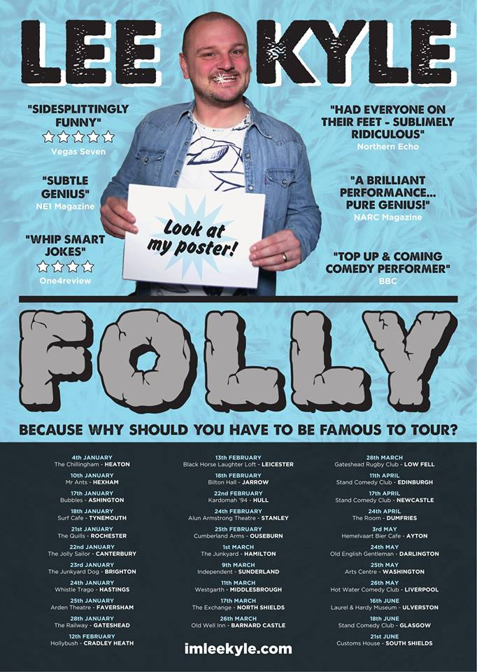 Lee Kyle: Folly @ Arden Theatre